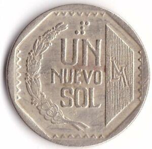 1 Nuevo Sol 1994 Peru Coin 308.1