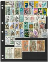 French Andorra 50 Different Stamps All Mint Unhinged in Glassine Bag