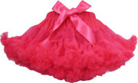 Girls Skirt Dress Multi-layers Tutu Dance Pageant Bow Kids Age 2-10 Years Formal
