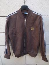 Veste ADIDAS 70's vintage Trefoil or gold VENTEX France tracktop jacket jacke XS