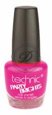 Technic Party Brights Nail Varnish / Polish 12ml Flamingo