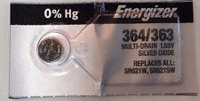 Silver Oxide Sr621W Sr621Sw 10X Energizer 364/363 1.55V
