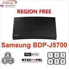 SAMSUNG BD-J5700 Curved REGION FREE BLU-RAY DVD PLAYER - WiFi - A, B, C & 0-9