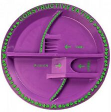 Constructive Eating Garden Fairy Plate great teaching tool made in the USA