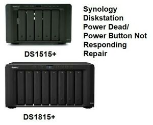 Synology DS1515+ & DS1815+ No Power/No LEDs/ Power Button Not Responding Repair