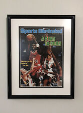 """Michael Jordan UDA Autographed Sports Illustrated """"A Star Is Born"""" Framed Cover"""