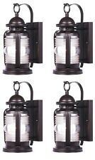 Westinghouse 6230100 - Weatherby One-Light Outdoor Wall Lantern Fixture - 4 Pack