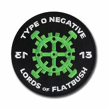"Lords of Flatbush Embroidered Patch - Type O Negative - 4 3/4"" embroidered patch"