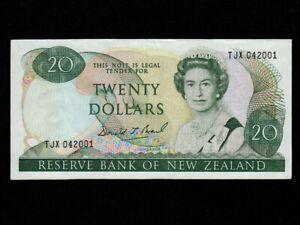 New Zealand:P-173c,20 Dollars 1981-1992 * Queen Elisabeth II * EF * NR ! *