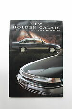 HOLDEN COMMODORE VP CALAIS BROCHURE  NOS HSV