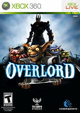 Overlord II  (Xbox 360, 2009) BRAND NEW STILL SEALED VERY RARE!