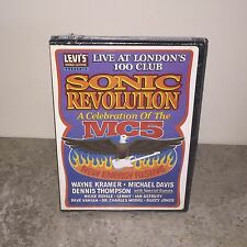 Factory Sealed The MC5 - Sonic Revolution: A Celebration of The MC5 DVD!