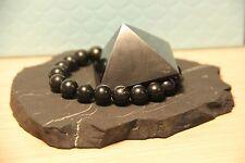 Shungite bracelet stone pyramid schungit protection amulet chakra elite S017