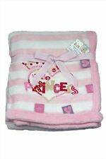 Pitter Patter Girls Nursery Blankets & Throws with Wrap