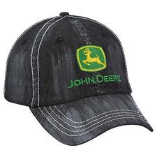JOHN DEERE *WASHED DENIM* TWILL HAT CAP *BRAND NEW*