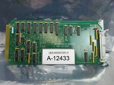 Svg Silicon Valley Group 851-8514-006 Wafer Handler Pcb Card Rev. C 90S Used