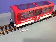 (K144) playmobil grand wagon ref 4124 train RC ref 4010