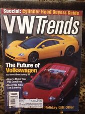 VW Trends Magazine November 1999
