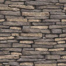 Pietra NATURALE EFFETTO CARTA DA PARATI 10m Ardesia-Fine Decor FD31293 Nuova Caratteristica Muro