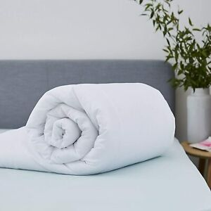 Anti-Allergy 15Tog Soft Poly Cotton Cosy Duvet/Quilt Single Double King UK Size