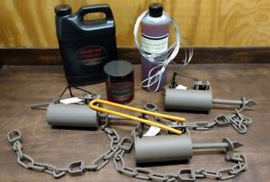 3 Dog Proof Trapping Kit Duke Dog Proof Traps Raccoon Trapping kit Z Traps