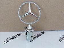 Mercedes Hood Emblem Badge W126 300 420 500 560 350 SD SE SEL 1986-1991