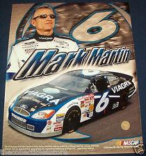 MARK MARTIN PFIZER VIAGRA ROUSH RACING NASCAR WINSTON CUP SERIES 16 X 20 PHOTO