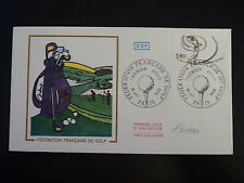 FRANCE PREMIER JOUR FDC YVERT 2105   LE GOLF   1,40F   PARIS 1980