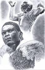 Michael Vick Philadelphia Eagles picture poster sketch Art