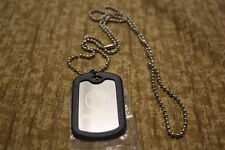 Jagermeister DOG TAG Jager NECKLACE Collectible Silver Dogtag not tee shirt hat