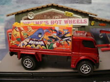 2010 MATCHBOX DC COMICS red BILLBOARD TRUCK w/ BATMAN ☆New loose ☆