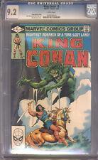 King Conan #9  CGC 9.2  NM-  Universal