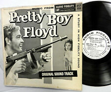 PRETTY BOY FLOYD soundtrack LP White label PROMO Del SERINO and WILLIAM SANFORD