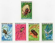 1972 Chad Scott #252-256 - Native Insects Set of 5  MHR Spiders, Beetles...