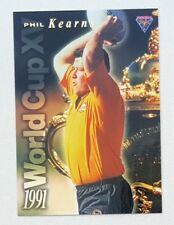 1995 Futera Rugby Union World Cup XV insert card #WC2 Phil Kearns