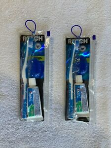 2 Packs - Reach Toothbrush Crest Toothpaste Oral Care Travel Kit, TSA Compliant