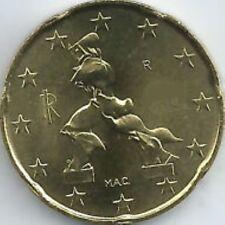 Italië  2007    20 cent      UNC uit de rol !!!  UNC du rouleaux !!