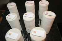 Candle wicks for particularly complicated tealight,votive,original WEDO V series