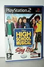 HIGH SCHOOL MUSICAL SING IT! USATO OTTIMO PS2 VERSIONE ITALIANA PAL GP1 39844