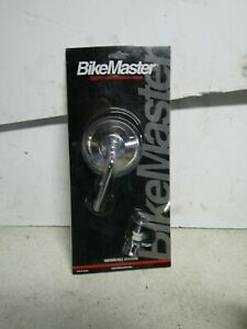 "BikeMaster Clamp-On Mirror 60-0006 - Univ Clamp on 4"" Stem"