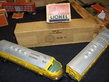 LIONEL TRAIN-  2379 RIO GRANDE  F3 DIESEL AB UNITS WITH RARE ORIGINAL BOXES
