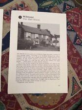 74-5 Ephemera 1996 Picture Pub The Half Moon Wilstone