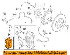 MINI OEM 09-15 Cooper Brake-Front Pads 34116789157