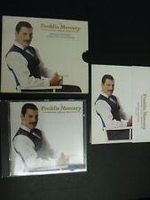 FREDDIE MERCURY QUEEN CD ALBUM + 5 PHOTOGRAPHS * THE FREDDIE MERCURY ALBUM *
