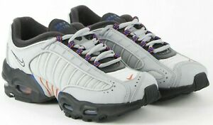 Womens Nike Air Max Tailwind 4 IV Shoes Grey Blue Orange CK0700-001 New