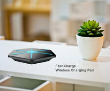 Qi Wireless Charger Pad Fast Charging Snowflake for Apple iPhone X / 8 / 8 Plus