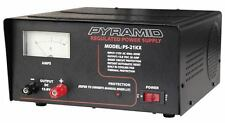 New Pyramid 20 Amp Power Supply Input: 115V AC, 60Hz, 450W, Output: 13.8V DC,