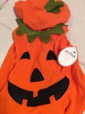 Pottery Barn Kids Pumpkin Halloween Costume 3-6 Mo NWT! Fast Ship