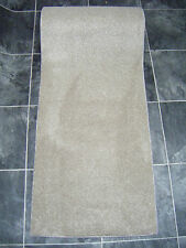 156 x 22 inch (4m x 55cm)  THICK SOFT PILE BEIGE CARPET RUNNER BRAND NEW 1394