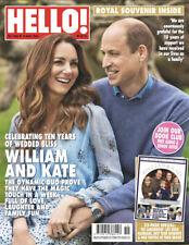 HELLO! Magazine #1685  - WILLIAM & KATE, ROYAL SOUVENIR INSIDE! (SPECIAL EDITION